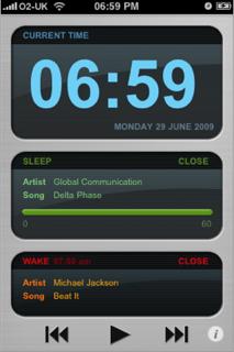 Playlist Alarm Clock (Despertador con listas de reproducción)