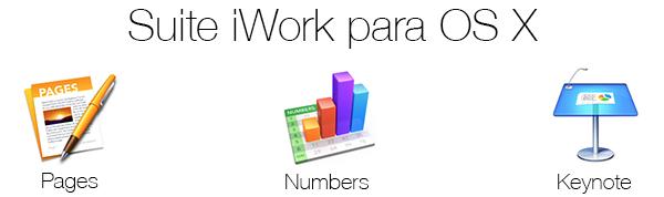 Suite iWork para OS X