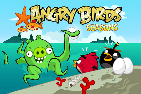Free Angry Birds Seasons Limited for iPhone, iPod Touch and iPad 1