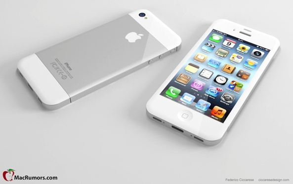 iPhone 5 frente a un iPhone 4S
