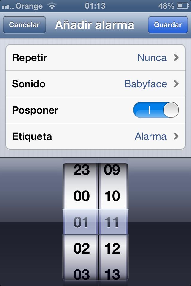 Como poner una cancion como tono de alarma con iOS 6 - 4