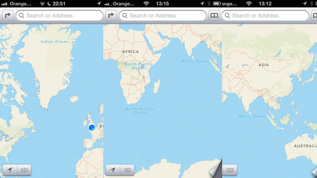 Google Apple Maps