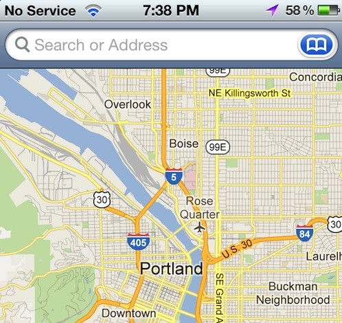 Google Maps iOS 5