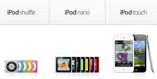 Nuevos iPod y iPhone 5