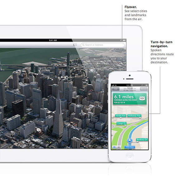 enable iOS 6 maps old devices