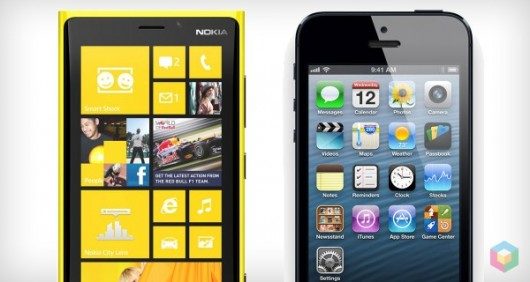 Nokia Lumia vs iPhone 5