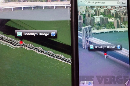 Mapas iOS 6 Brooklyn