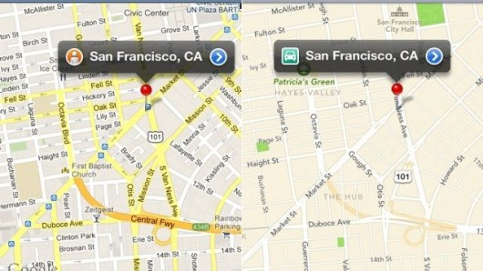 Mapas iOS 6 vs Google consumo datos
