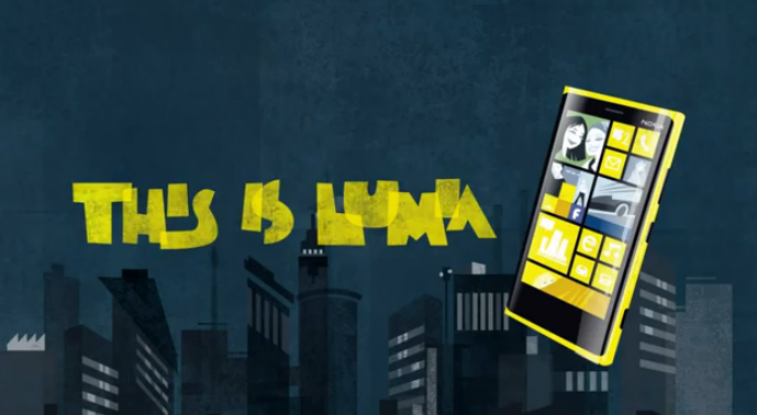 This is Nokia Lumia