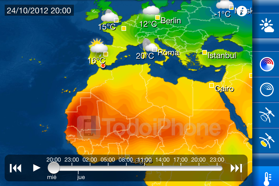 WeatherPRO - TodoiPhone 8