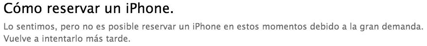 como reservar un iPhone 5