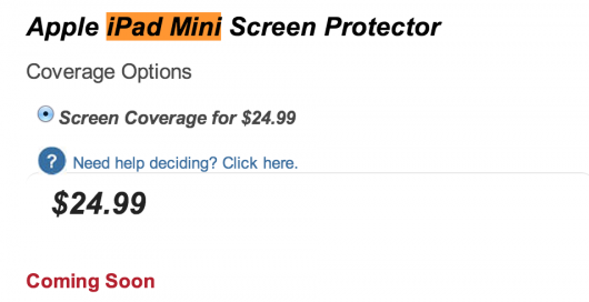 iPad Mini Screen Protector zagg