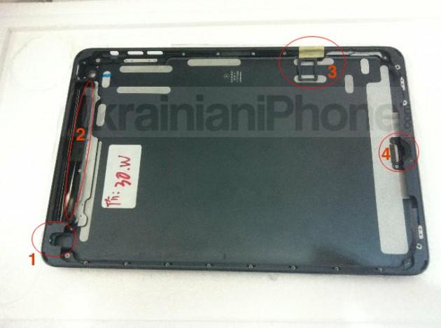 iPad Mini bandeja nano-SIM