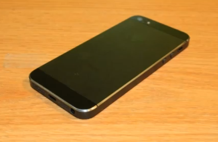 Bordes del iPhone 5 rayados, una bizarra solución [Vídeo]