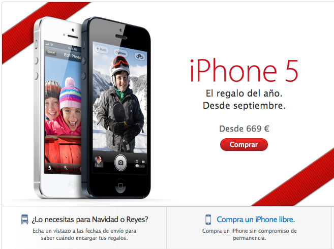 Comprar iPhone Libre