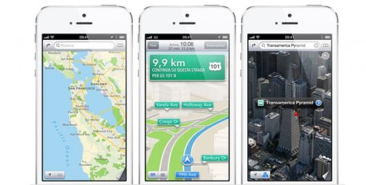 iPhone 5 Maps iOS 6
