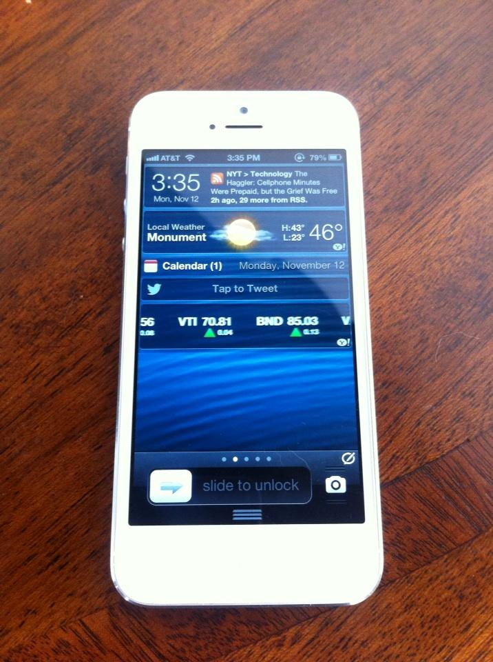 iPhone 5 jailbroken - TodoiPhone