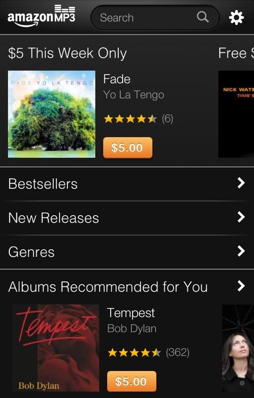 Amazon's MP3 Web Store