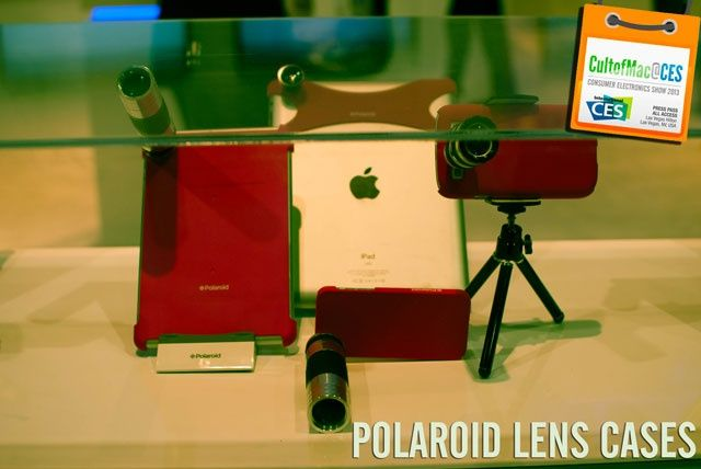 Polaroid Lens Cases - CES 2013