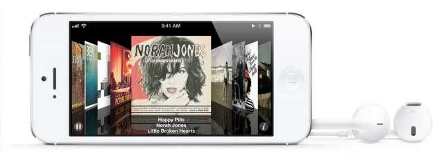 iPhone 5 Musica