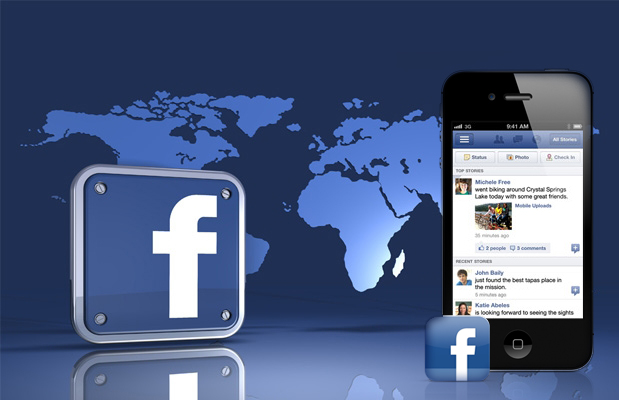 iPhone Android - Facebook