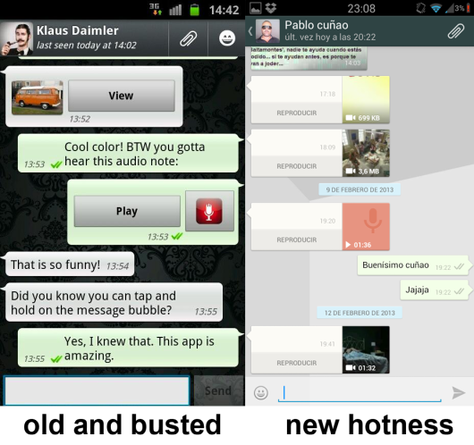 New Android WhatsApp 1