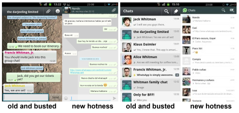 New Android WhatsApp 2