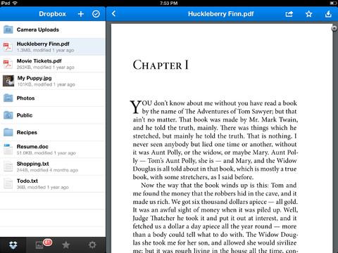PDF Dropbox
