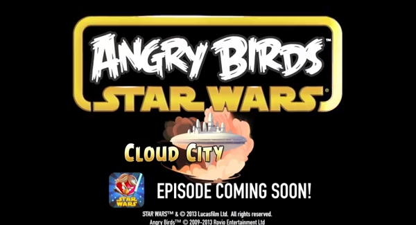 Angry Birds Star Wars - Cloud City
