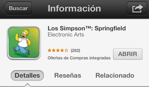 App Store In-App info