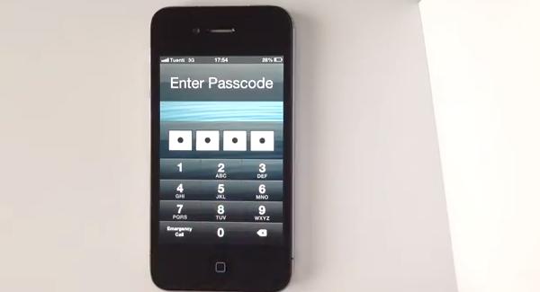 Enter Passcode Bypass