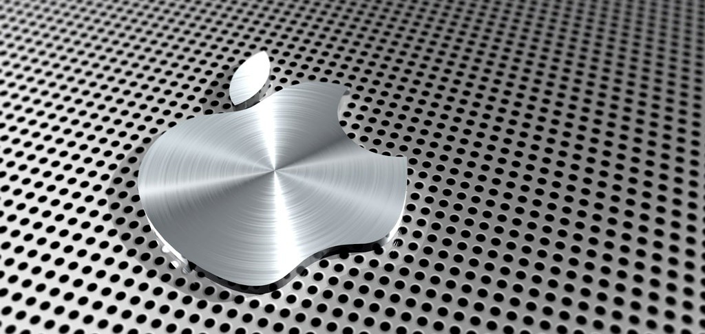Metal Logo Apple