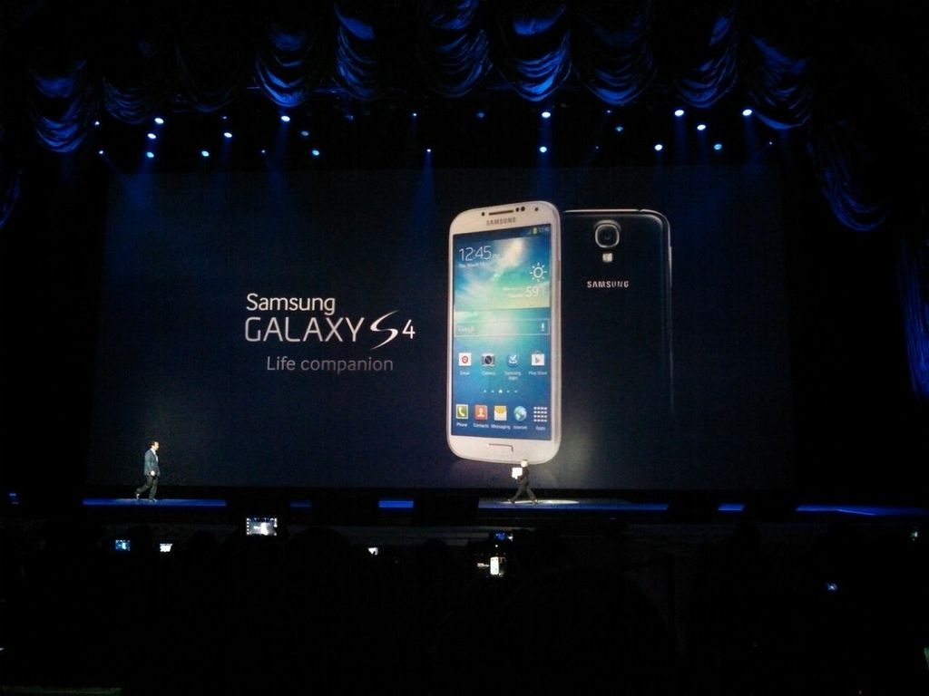 Samsung Galaxy S4 Announce