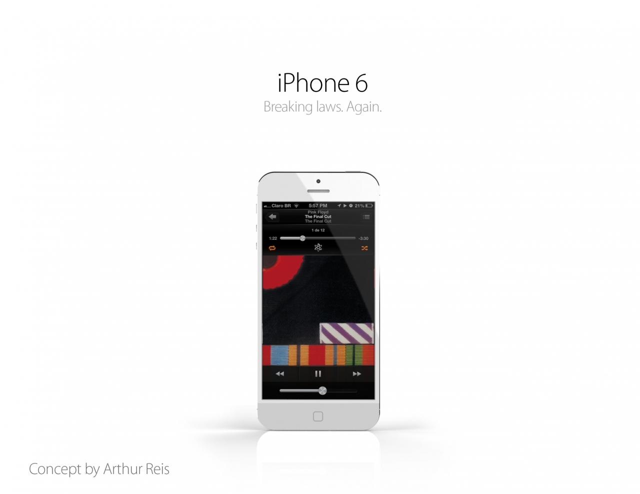 iPhone 6 Concepto by Arthur Reis