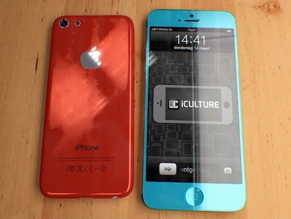 iPhone 5S y iPhone Low-Cost