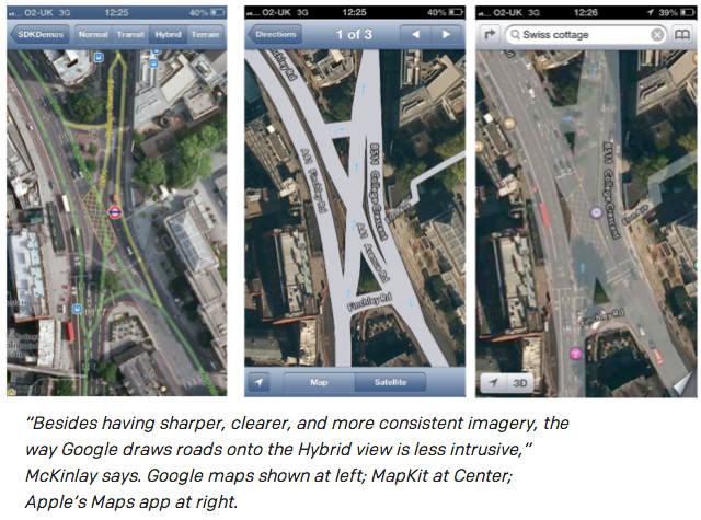mapkit vs google sdk 2