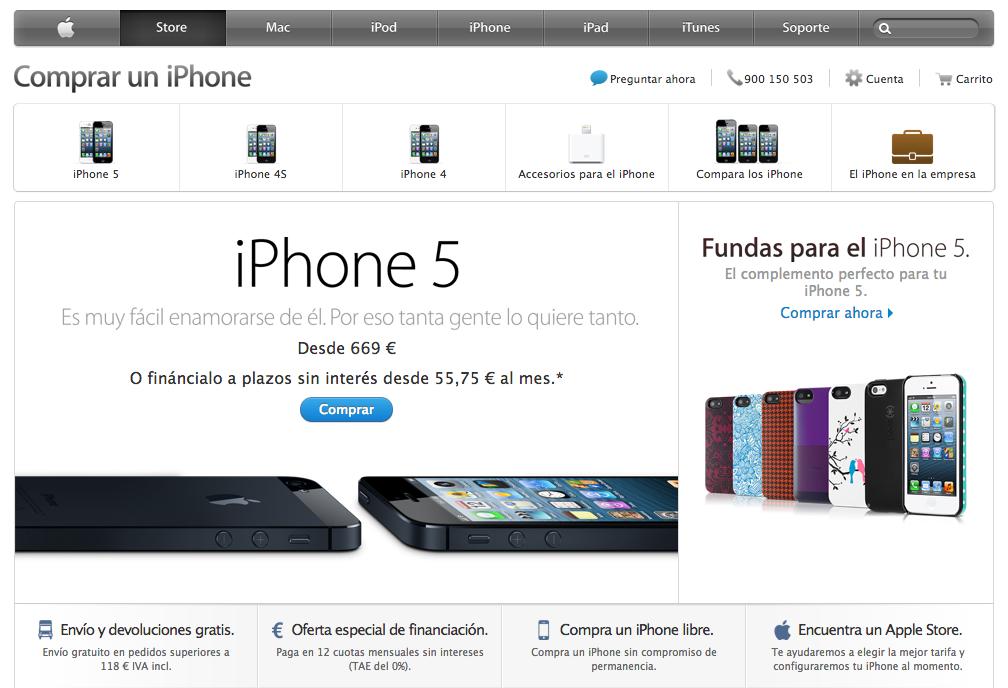 Nueva Navegacion App Store Online