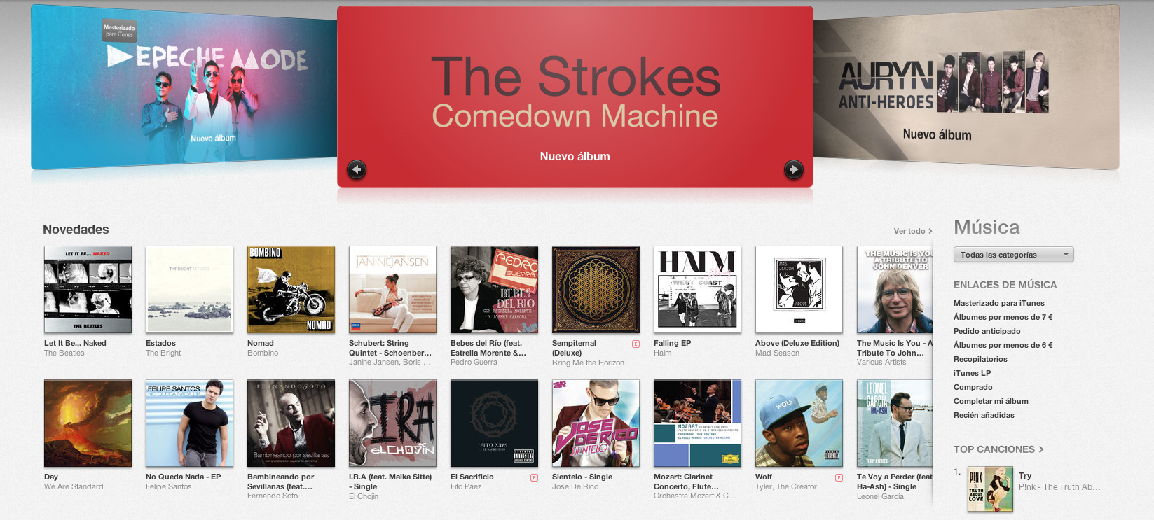 Revender las canciones adquiridas en iTunes es ilegal