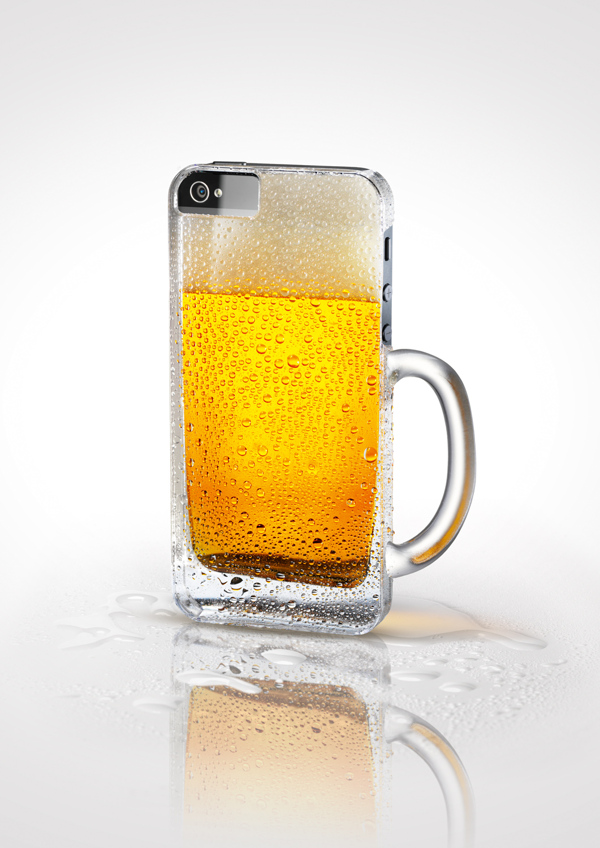 Twin-Desing BLICK Apps Beer - Fundas para iPhone