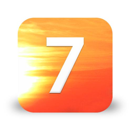 Unofficial iOS 7 Logo