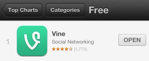 Vine App Store 1