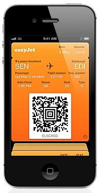 EasyJet Passbook Boardingpass