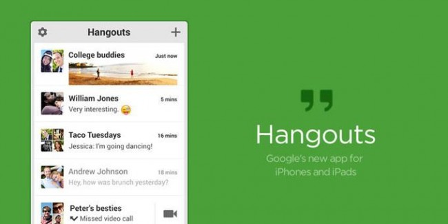 Google Hangouts SMS