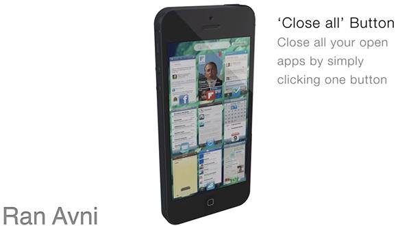 Multitasking Potenciado en un Nuevo Concepto de iOS 7
