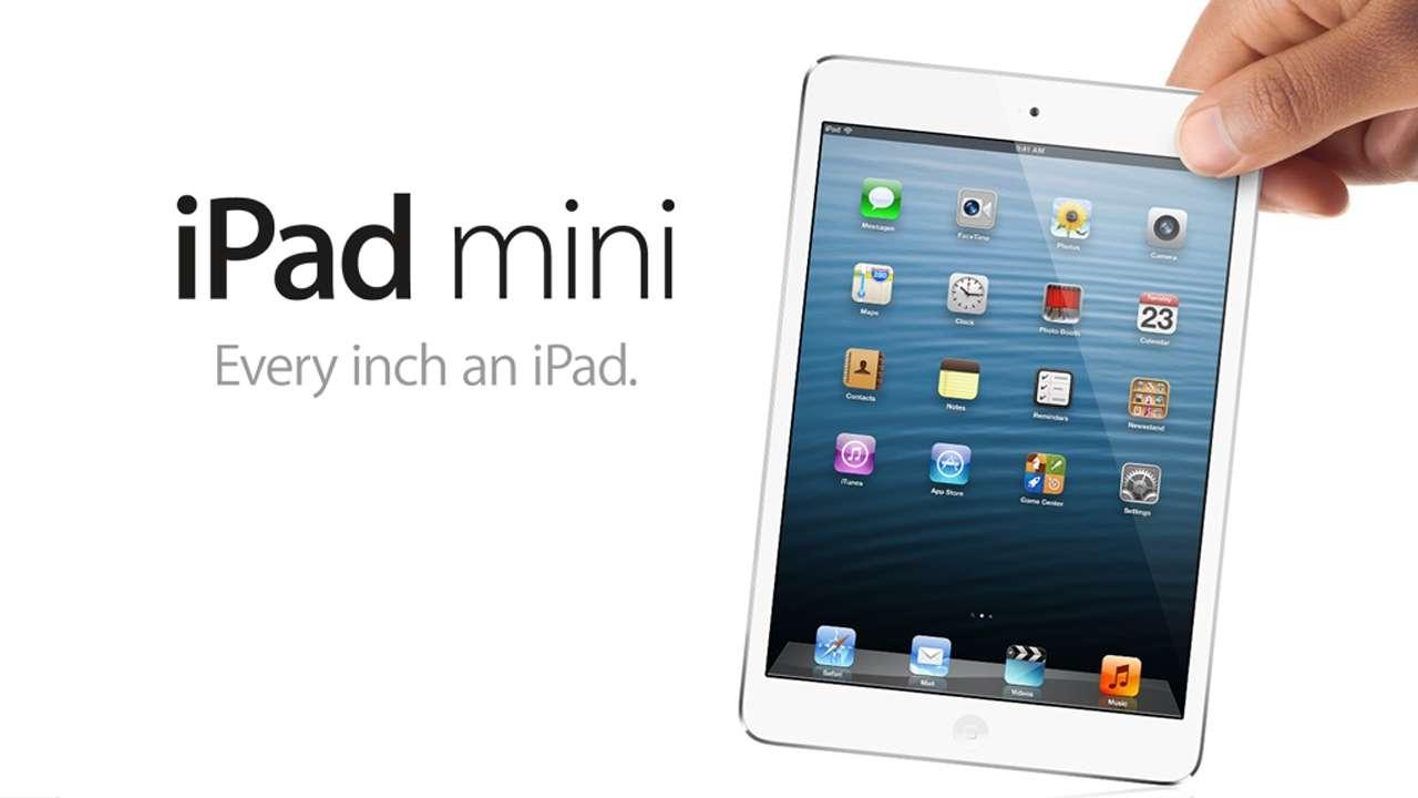 iPad mini cada pulgada