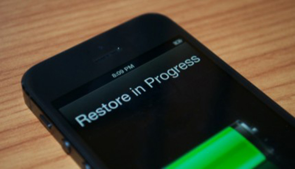 Restore iPhone 5