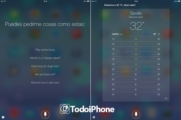 Siri iOS 7 Beta 2 iPad - 1