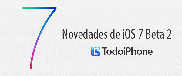 iOS 7 Beta 2 Novedades