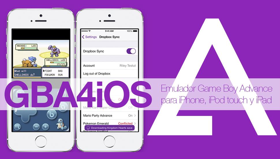 Cómo instalar un emulador de GBA en iPhone y iPad sin Jailbreak