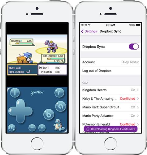 Emulador GBA iPhone iPad